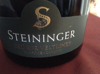 Steininger Gruner Veltliner Sekt 2014